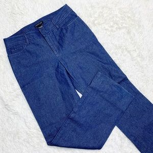 KENNETH COLE New York Denim Bootcut Trouser Pants